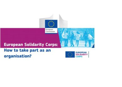Plakat European Solidarity Corps