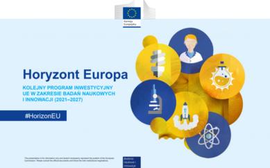 Plakat Horyzont Europa