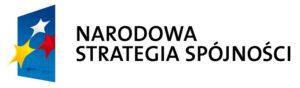 Logo Narodowa Strategia Spójności